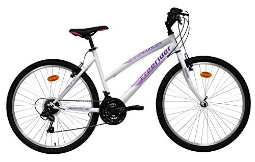 Bicicleta de montaña de 26 pulgadas, bohemia/Freerider – Marco de acero rígido – 18 velocidades IndeXEES y desviador Shimano TY21