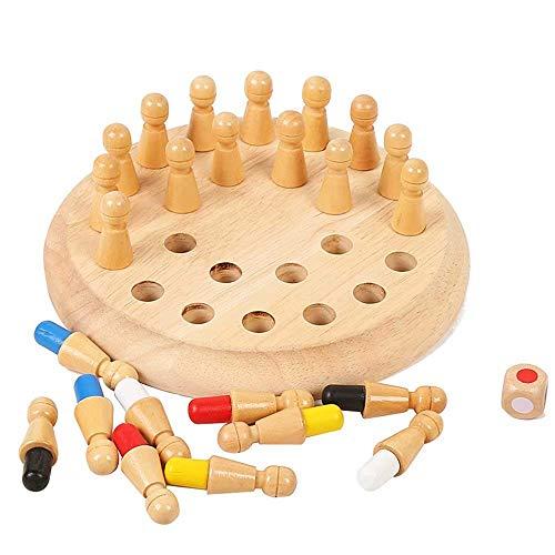 YZWJ Kinderspielzeug Mémoire pour Enfants, Jouet de Formation, mémoire, échecs, logique, pensée, développement intellectuel, Jeux de Bureau, échecs