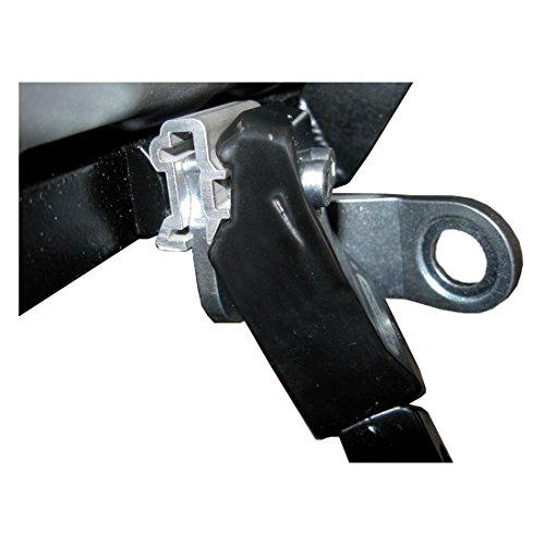 Weber KU.06.110.06 Adapter mit Schrauben M6 für EP-Kupplung, Silber (1 Stück)