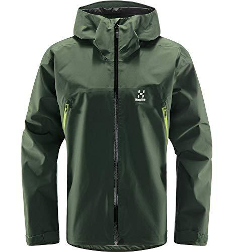 Haglöfs Hardshelljacke Herren Hardshelljacke ROC GTX Jacket Wasserdicht, Winddicht, Atmungsaktiv Fjell Green XL XL
