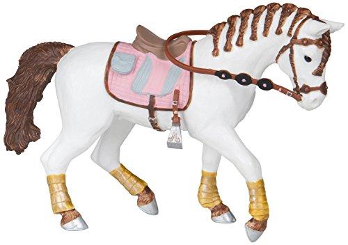 Papo 51525, FOHLEN EN PONYS paard met gevlochten vlechten, meerdere kleuren