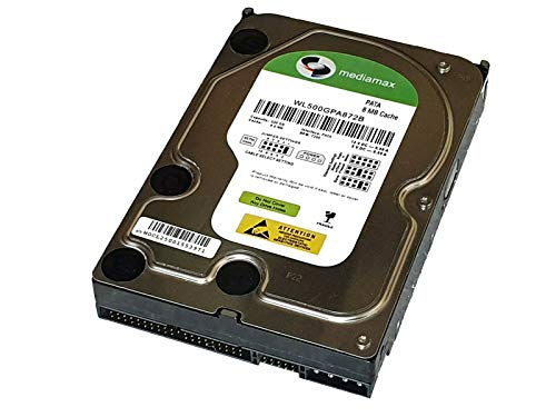500GB IDE MEDIMAX interne Festplatte UDMA-133 P-ATA 8MB Low Power Green