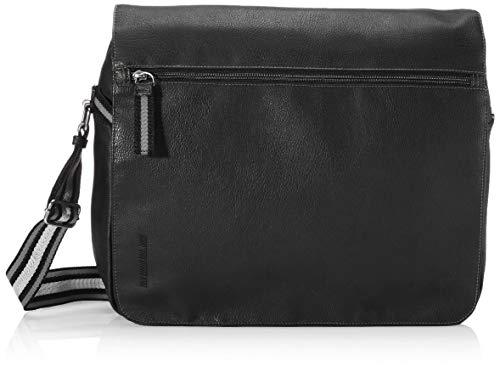 TOM TAILOR Herren Warren Messenger bag, black, L