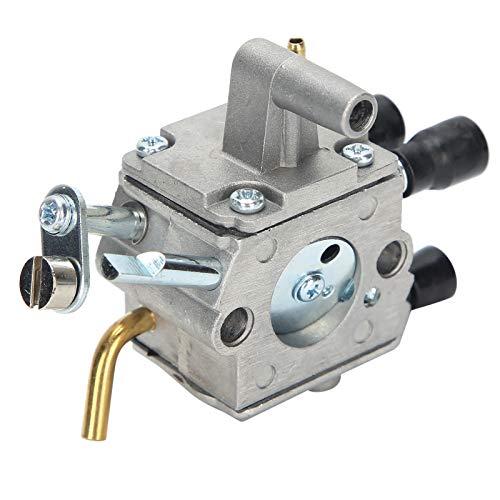 Aukson Carburador para cortacésped, Conjunto de carburador, Tubo de Combustible, Filtro de Combustible, Juego de filtros de Aire, aleación de Aluminio + plástico para cortacésped STIHL FS400 FS450