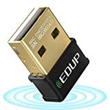 EDUP USB WiFi Adapter for Laptop PC AC 1300Mbps Nano Wireless Network Card Wi-Fi Dongle Dual Band 2.4G 5.8G 802.11AC Support Windows 10/7/ 8.1/ XP/Vista/Mac OS 10.6-10.14