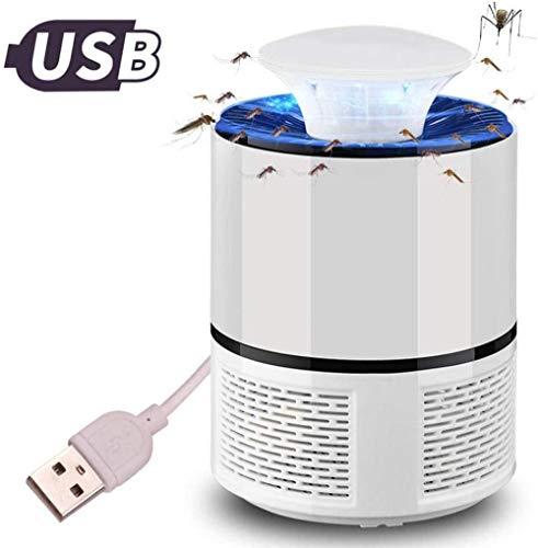 baozge Mosquito Killer Lamp Fly Killer USB Electric Mosquito Killer Lamp Led Bug Zapper Anti Mosquito Killer Lamp Insect Trap Lamp Killer Home Pest Control-Black-Blanco