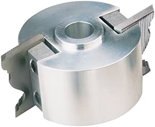 Woodstock D1700 2-Inch Moulding Head System Cutter head with 3/4-Inch Bore