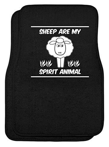 SPIRITSHIRTSHOP Sheep Are My Spirit Animal - automatten