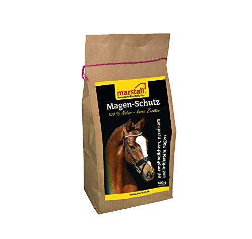 marstall Premium-Pferdefutter Magen-Schutz, 1er Pack (1 x 0.5 kilograms)