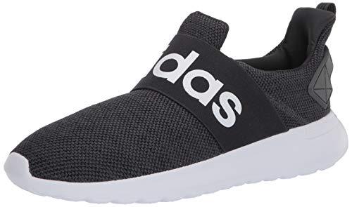 adidas Women's Lite Racer Adapt Running Shoe, Black/White/White, 7