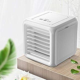 WJJH Aire Acondicionado Compacto refrigerador evaporativo humidificador de Aire, refrigerador pequeño Espacio, Ventilador de Escritorio USB, Personal del refrigerador de Aire,A