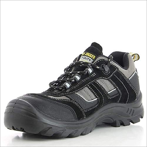 Safety Jogger JUMPER, Unisex - Erwachsene Arbeits & Sicherheitsschuhe S3, schwarz, (blk/blk/dgr 117), EU 43