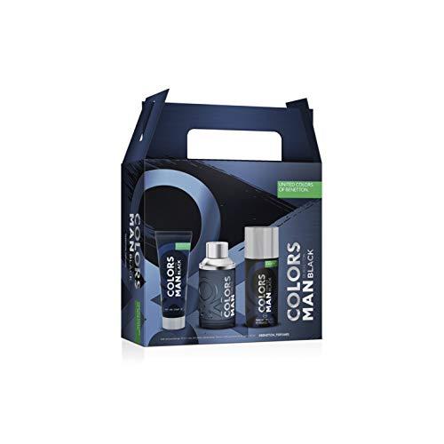 Benetton Col Benetton C Man Black Est 3 Pzas 100 ml