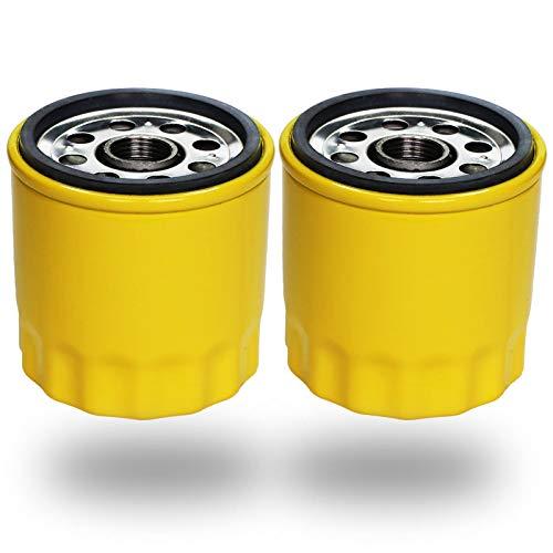 HOODELL 2 Pack 52 050 02-S Oil Filter, Pro Performance for Kohler M18 M20 SV715 SV725 SV735 CV13S CV15S CV22S Engine 52 050 02 5205002S 52 050 02-S1 Oil Filter