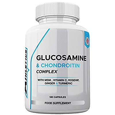 Glucosamine 2 KCL & Chondroitin Complex - with MSM, Rosehip, Ginger & Turmeric
