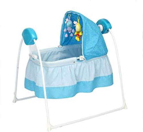 Buy Cheap RENKUNDE Baby Electric Rocking Chair, Portable Sleepy Artifact, Intelligent Timed Music Cr...