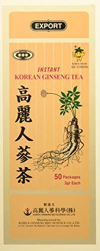 Herbo Veneta Ginseng Coreano Solubile - 50 Bustine da 3 gr