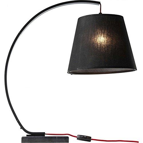 Lampe de table Arco noir Kare Design