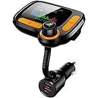 Tsnam Bluetooth FM Transmitter Car Adapter