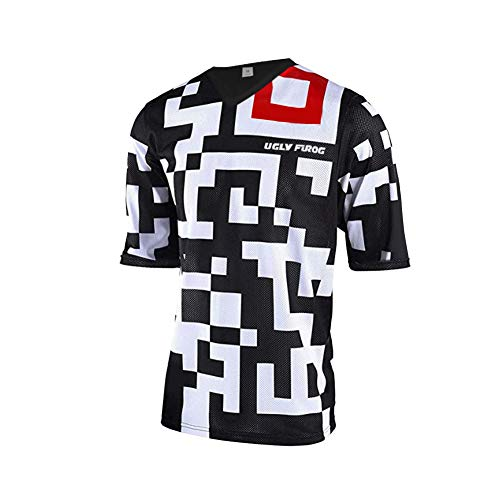 Uglyfrog MTB Jersey Herren Kurzarm Mountain Bike Shirt Racewear FR Jersey Trikot SJFH03