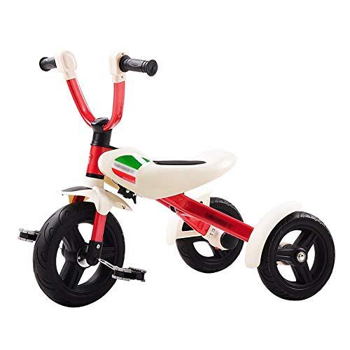 Jouets Trikes pour Tout-Petits, Tricycle pour Enfants 3-6 Ans bébé vélo préscolaire Pliable vélo Portable Enfants (Couleur: Blanc)