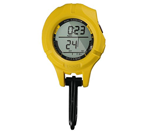 Oceanic B.U.D. Back Up Device, Yellow