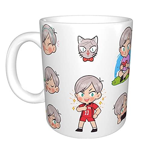 NA Ankunft von Haiba Lev I einzigartige lustige Keramik-Kaffeetasse Home Office Kaffee-Tee-Tasse für Neuheits-Festival-Geschenk