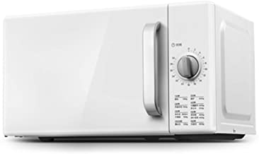 KOUPA Retro Style Countertop Microwave Oven, 360°Heating, 20L Large Capacity and DIY time Adjustment, for Home or Office