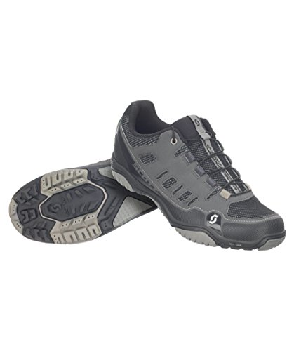 Scott Herren MTB-Radschuh Crus-R Mountainbike Schuhe, Grau (Anthrazit/Schwarz 1033), 45 EU