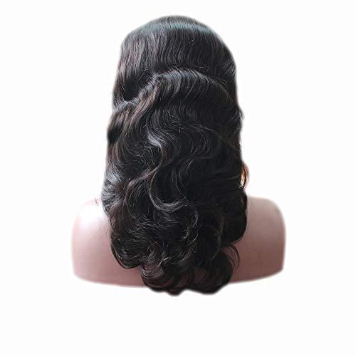 Princess New Hot Body Wave Dentelle complète des Perruques Cheveux de bébé naturelle au niveau 100% brésilienne Nature Cheveux Densité 130%