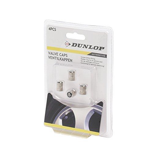 Dunlop Vehicle 871125241774Set Ventilkappen Silber