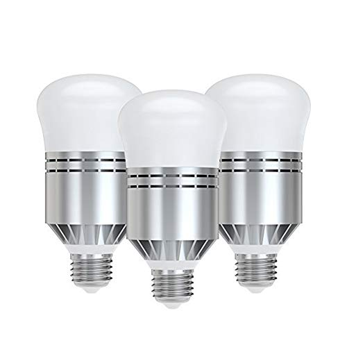 Smart Sensor LED Bulb, Dusk to Dawn Light Bulb Built-in Photosensor Detection with Auto Switch Outdoor/Indoor Lamp for Porch Patio Garage Basement Hallway(E26/E27,600lum,Cool White,2pack) (12w)
