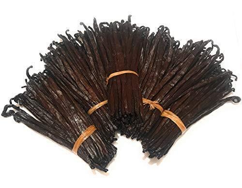 Vanilleschoten aus Madagaskar Gourmet Schwarzer Bourbon (10 stk von 12 bis 15 cm für 28 g)