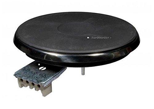 Plaque electrique diam cm 15,5 universel 4 contacts