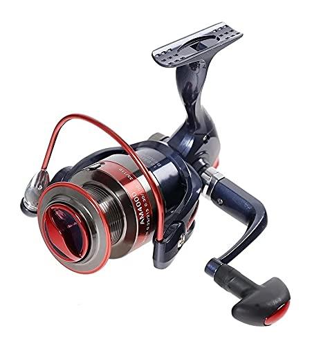 LQJin 2000-7000 Series 12BBS Spinning Carrete de Pesca MAX Drag 20kg Pesca de Carpa Pesca Spinning Reel Rueda de Pesca Izquierda/Derecha (Color : 5000 Series)