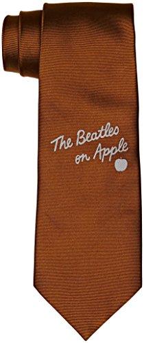 The Beatles Cravate unisexe sur pomme - Marron - Taille Unique