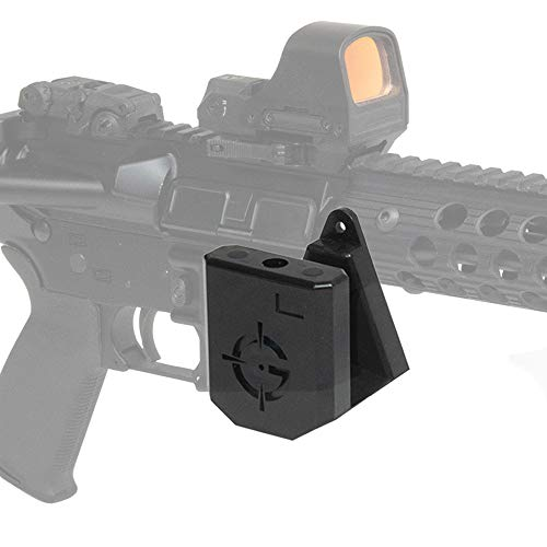 Ghost Concealment AR-15 Wall Mount, Gun Safe AR Wall Mount Storage and Rifle Display, Gun Room Mounting