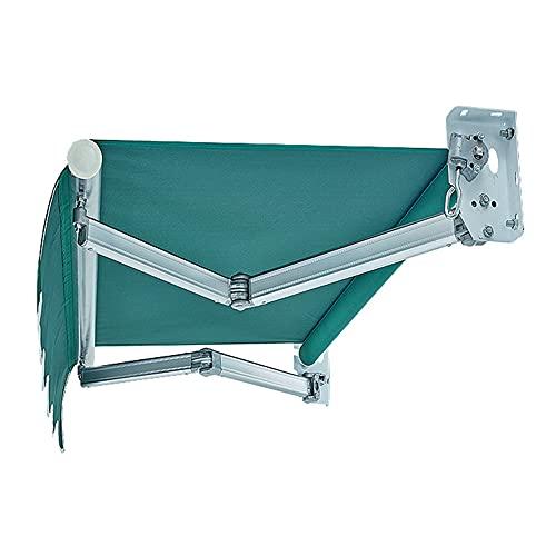 DJLOOKK Toldos Toldo Plegable para Patio Protección portátil para automóvil Cubierta retráctil para sombrilla Sombrilla para Exterior Toldo Ventana Refugio Pérgola para terraza Balcón Patio,2x1.5m