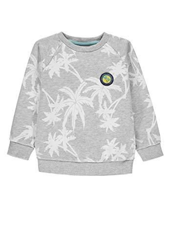 Kanz Jungen 1/1 Arm Sweatshirt, Mehrfarbig (Allover Multicolored 0003), (Herstellergröße: 128)