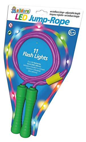 alldoro 60345 LED-Springseil, Mehrfarbig