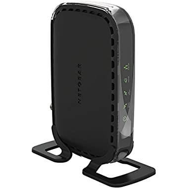 NETGEAR Cable Modem 8x4 DOCSIS 3.0 (No Wireless/Modem ONLY) Works Xfinity from Comcast, Spectrum, Cox, Cablevision & More (CM400-1AZNAS)