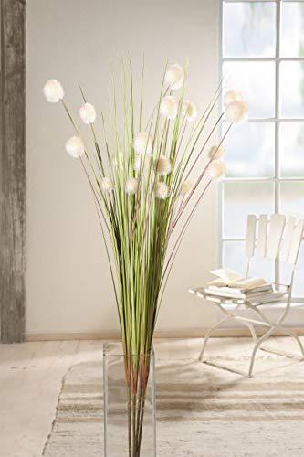Arreglo Floral Decorativo con Flores esféricas (4 Unidades)