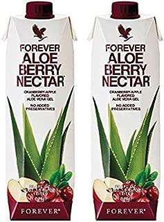 Forever Living Aloe Berry Nectar 33.8 fl oz- Pack of 2