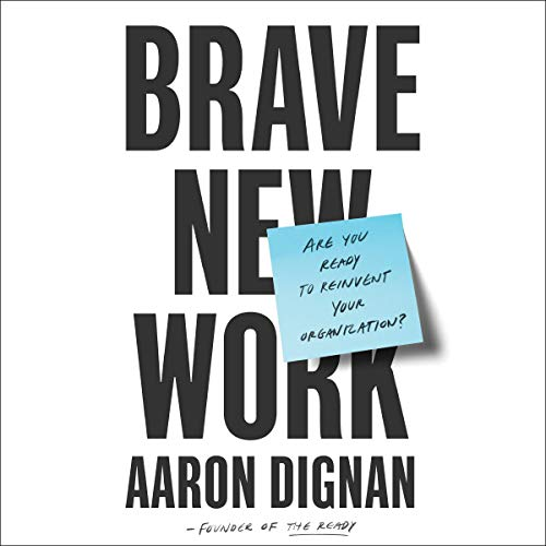 Brave New Work audiobook cover art
