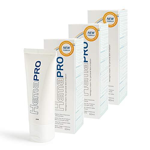Hämorriden - 3 Hemapro Cream: Creme zur Hämorrhoiden Linderung