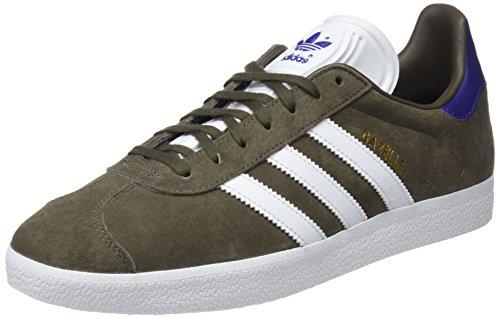 adidas Gazelle, Scarpe da Fitness Uomo, Verde (Rama/Ftwbla/Purrea 000), 42 2/3 EU