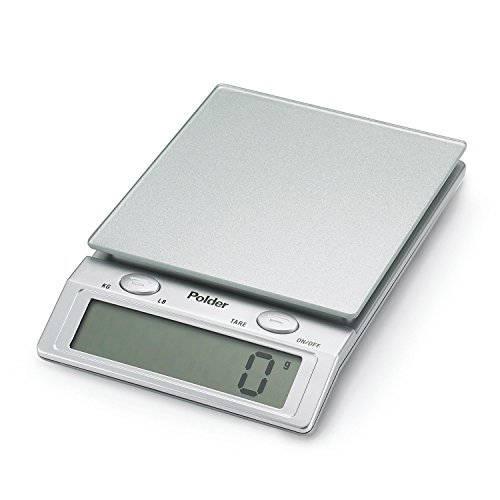 Digital Glass Top Scale Silver