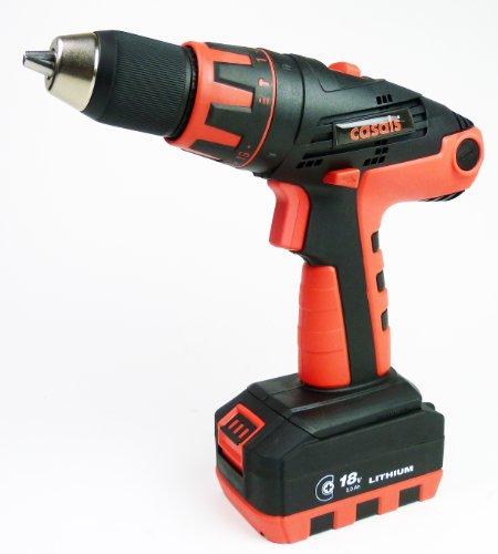Casals CLIP3018K2 - Taladro atornillador inalámbrico (18 V)