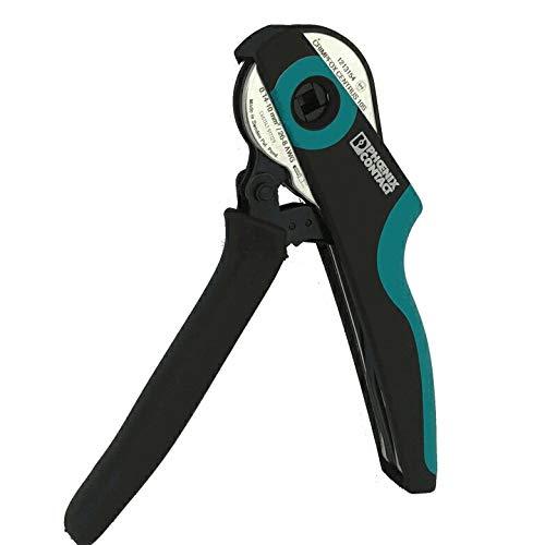 フエニックスコンタクトphoenic contact CRIMPFOX CENTRUS 10S 棒端子(フェルール)用圧着工具 適合電線サイズ0.14-6mm/26-8AWG ダイの幅12mm