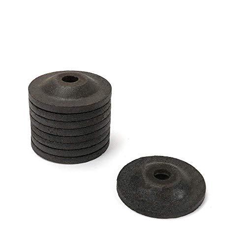 Schleifscheiben mit 10 mm Bohrung für Winkelschleifer 50 mm, 25 Stück